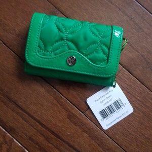 Vera Bradley plaza card and key wallet